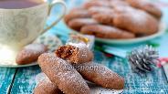 Фото рецепта Шоколадные пальчики с орехами