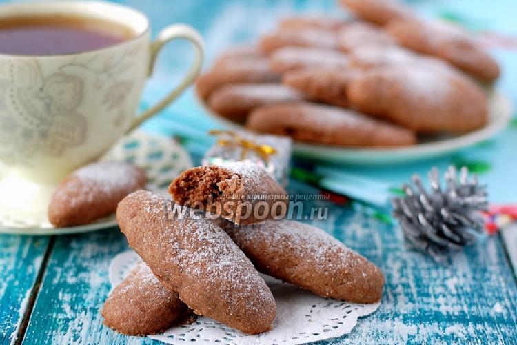 Фото Шоколадные пальчики с орехами
