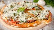 Фото рецепта Пицца с утиной грудкой