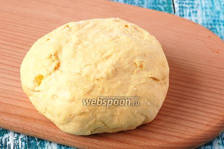 Тыквенное тесто для пиццы