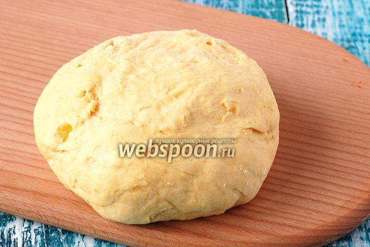 Фото Тыквенное тесто для пиццы
