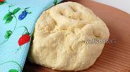 Фото рецепта Творожное тесто для пиццы