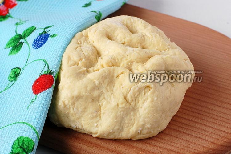 Фото Творожное тесто для пиццы