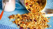 Фото рецепта Ореховая гранола