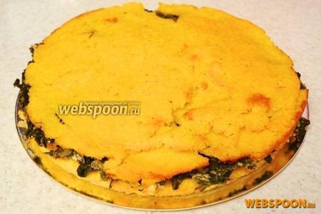 Наш трёхслойный пирог готов. Приятного аппетита!