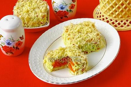 Солёные пирожные «Праздничные»
