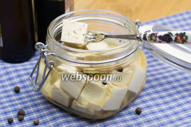 Фото Маринованный сыр тофу