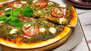 Фото рецепта Пицца с соусом песто