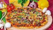 Фото рецепта Пицца мясная
