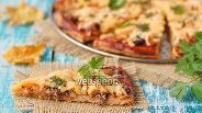 Фото рецепта Пицца с консервированной скумбрией