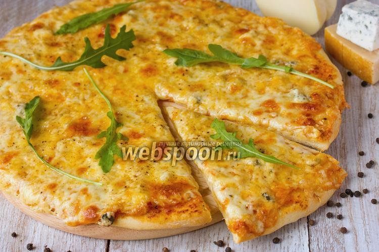 Фото Пицца «Пять сыров»