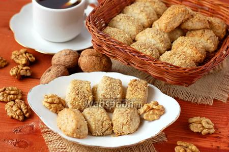 Печенье «Ореховые пенёчки»