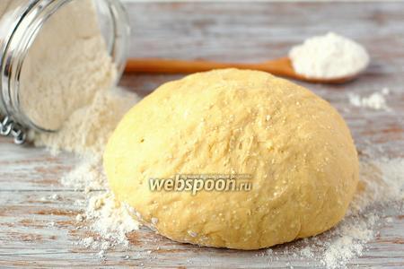 Творожно-дрожжевое тесто