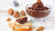 Фото рецепта Шоколадная паста с орехами