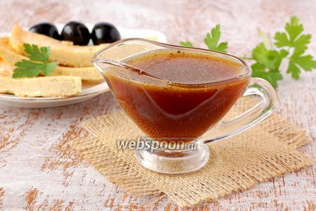 Медовый соус с горчицей
