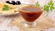 Фото рецепта Медовый соус с горчицей