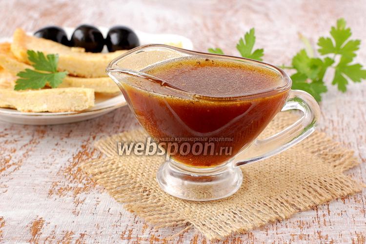 Фото Медовый соус с горчицей