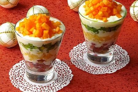 Десертный салат «Услада»