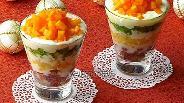 Фото рецепта Десертный салат «Услада»