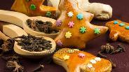 Фото рецепта Пряное рождественское печенье в глазури