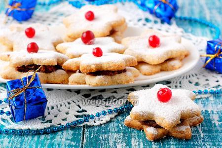 Орехово-арахисовое печенье