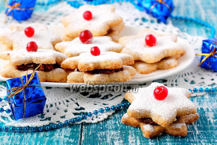 Фото Орехово-арахисовое печенье