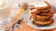 Фото рецепта Бананово-маковые оладушки