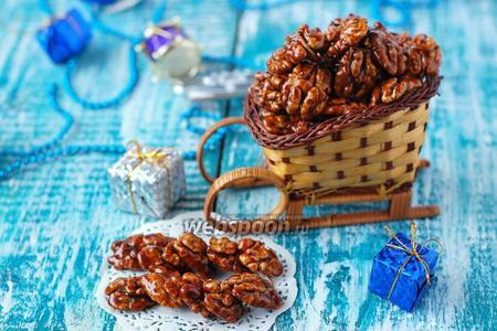 Грецкие орехи в пряной глазури
