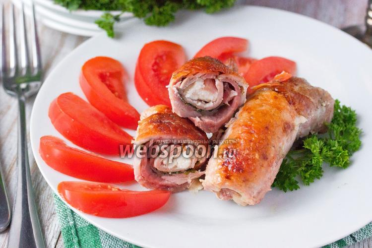 рецепты свиные рулетики ветчиной с фото