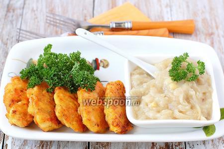 Котлеты куриные с морковью и луком