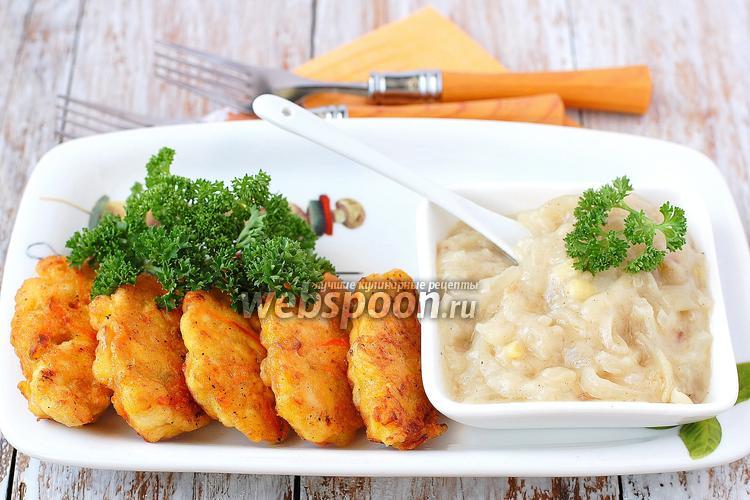 Фото Котлеты куриные с морковью и луком