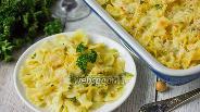 Фото рецепта Паста фарфалле с двумя сырами