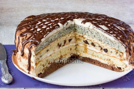 Торт «Роскошный сметанник»