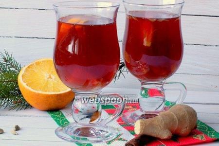 Глинтвейн с апельсином видео рецепт
