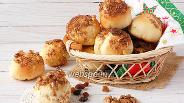 Фото рецепта Постные булочки с изюмом