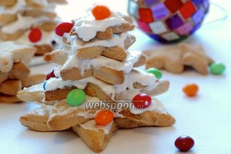 Ёлочки из печенья