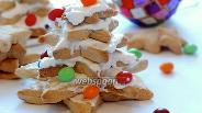 Фото рецепта Ёлочки из печенья