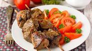 Фото рецепта Шашлык в духовке из свинины, маринованной в гранатовом соке