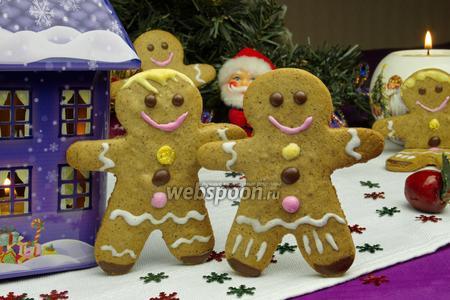 Рождественские пряничные человечки