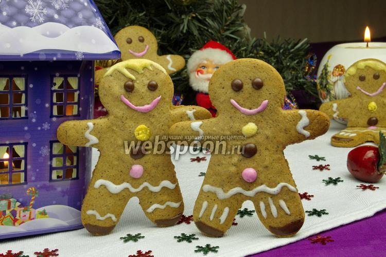 Фото Рождественские пряничные человечки