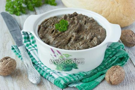 Фото рецепта Печёночный паштет с черносливом