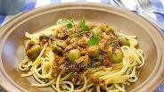 Фото рецепта Спагетти с тунцом