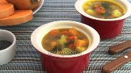 Фото рецепта Суп из тыквы с маком