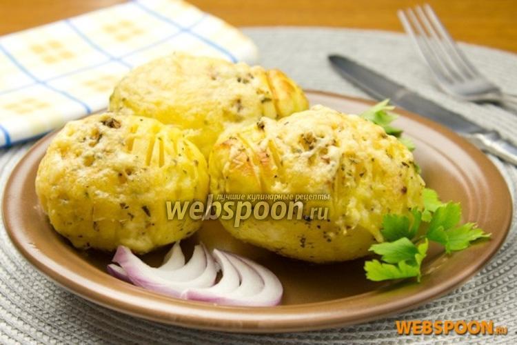 Фото Запечённый картофель в итальянских травах