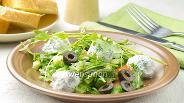 Фото рецепта Овощной салат с сыром Фета