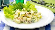 Фото рецепта Салат с сёмгой и яйцом