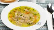 Фото рецепта Суп с говядиной и рисом