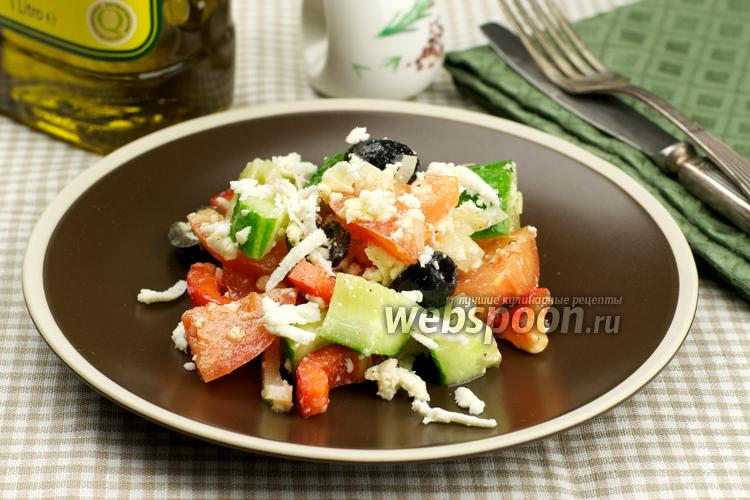 Фото Шопский салат