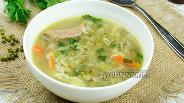Фото рецепта Суп с говядиной и машем