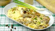 Фото рецепта Пеленгас запечённый под сыром